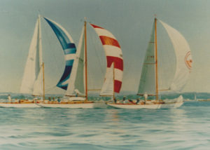 Concordias racing in their 50th anniversary regatta USA
