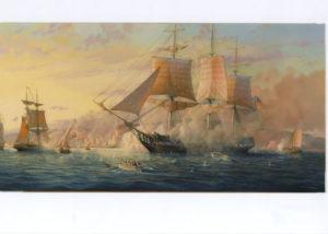 Battle of Tripoli. 1804