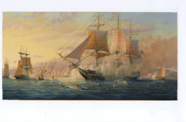 Battle of Tripoli. 1804