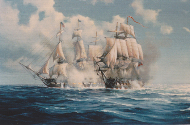 USS Constitution v Guerriere 1812
