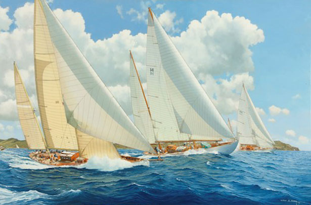 Vintage Class A - Antigua Classic Regatta