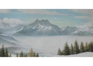 Les Dents du Midi, Switzerland